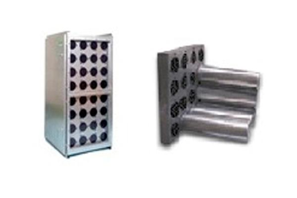 Воздушный угольный фильтр с фильтрами цилиндр