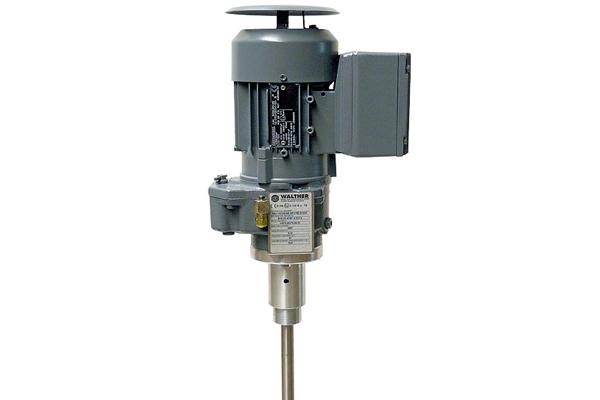Электрическая мешалка для красконагнетательных баков