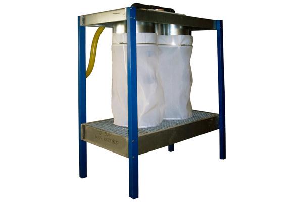 Сборник лакокрасочных отходов для очистки воды от окрасочного шлама из водяной покрасочной камеры