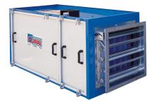 приточная установка с теплоностиелем вода Италия CTA