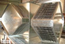 Пластинчатый рекуператор для экономии тепла